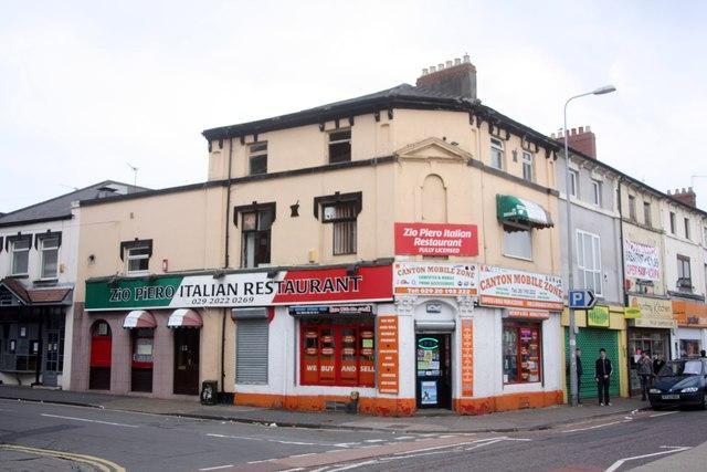 Zio Piero Restaurant 126a Cowbridge Road east Canton Cardiff