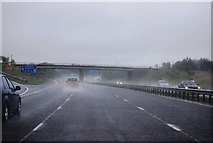 NY3366 : Junction 45, M6 by N Chadwick