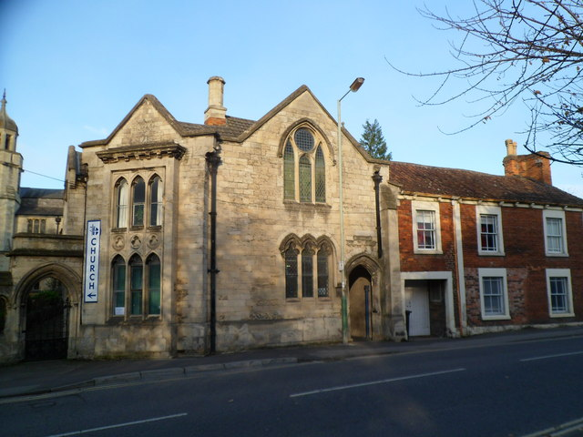 Grade II listed former Tabernacle Sunday School, Trowbridge