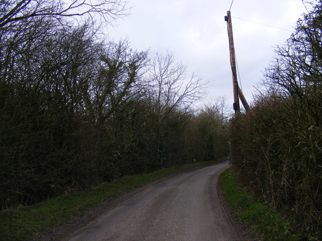 Lane at Battlesea Green