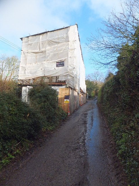 Repairing fire damage in Bickleigh