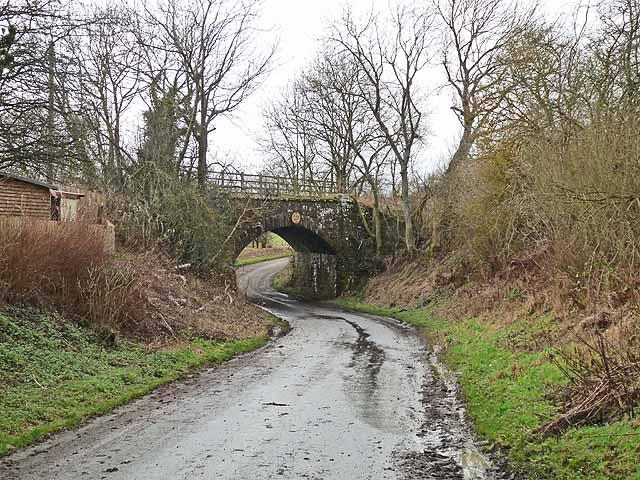 "Railway bridge on the ""Wannie"" line"