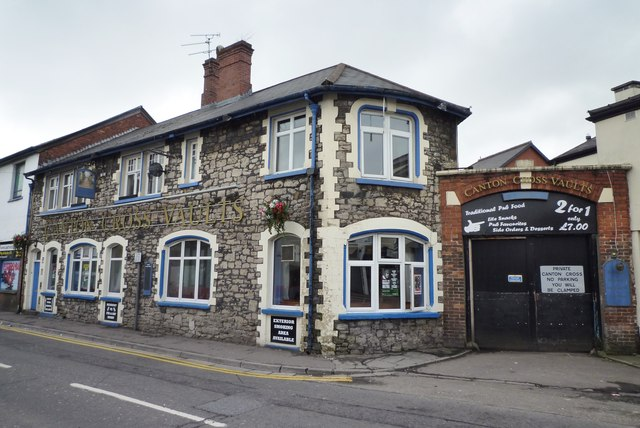 The Canton Cross Vaults Pub in Canton