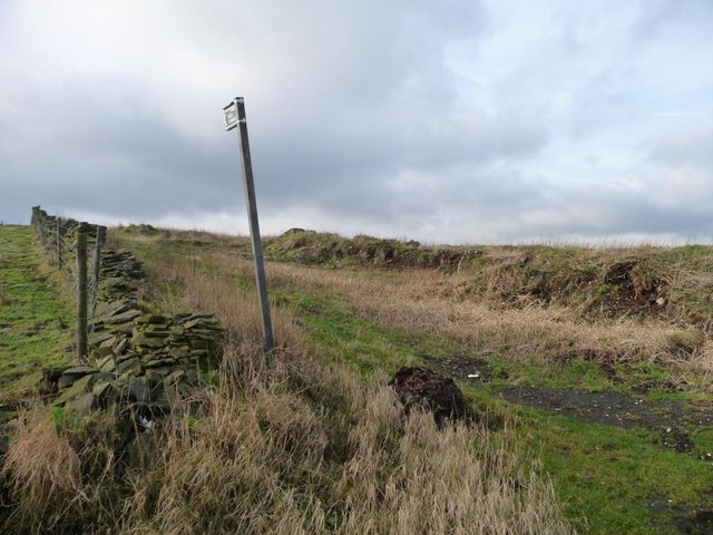 Public bridleway to Shiner Hill