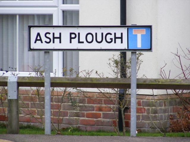 Ash Plough sign