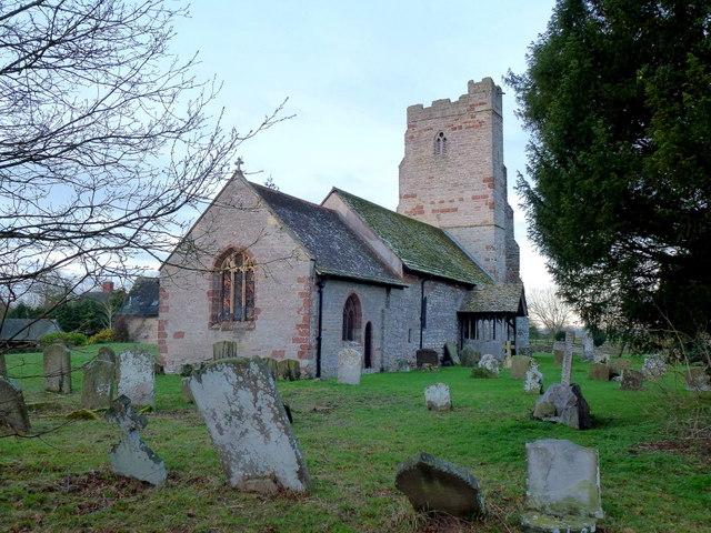 St. Faith's church, Berrow