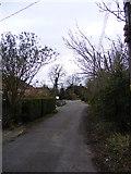 TM2373 : Doctors Lane, Stradbroke by Adrian Cable