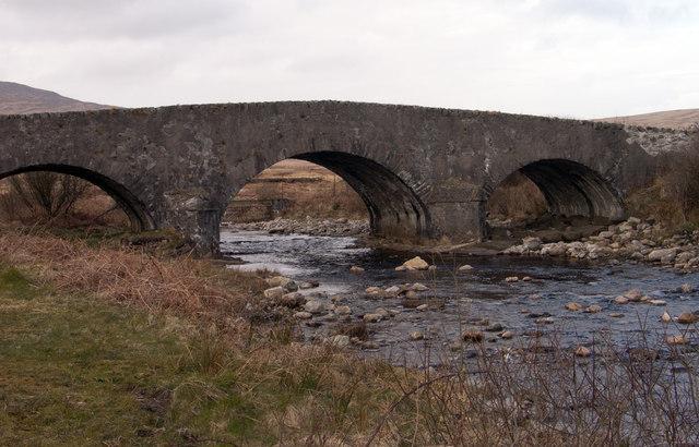 Bridge over Corran River