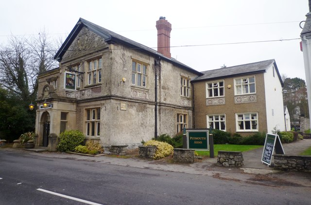 The Plymouth Arms Pub in St Fagans