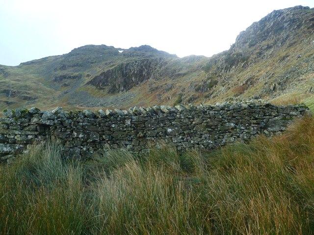 Fold under Lang Crag