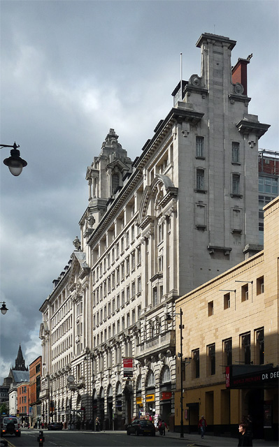 St James's Buildings, Oxford Street, Manchester