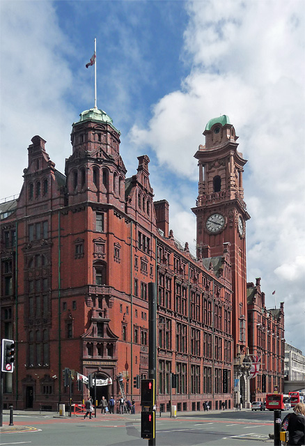 Former Refuge Assurance Company, Oxford Street, Manchester (1)