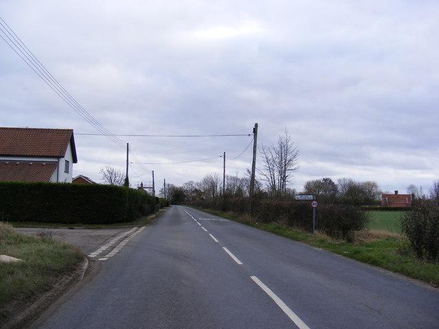 B1117 Laxfield Road