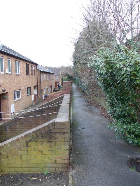 Footpath - Bull Royd Lane