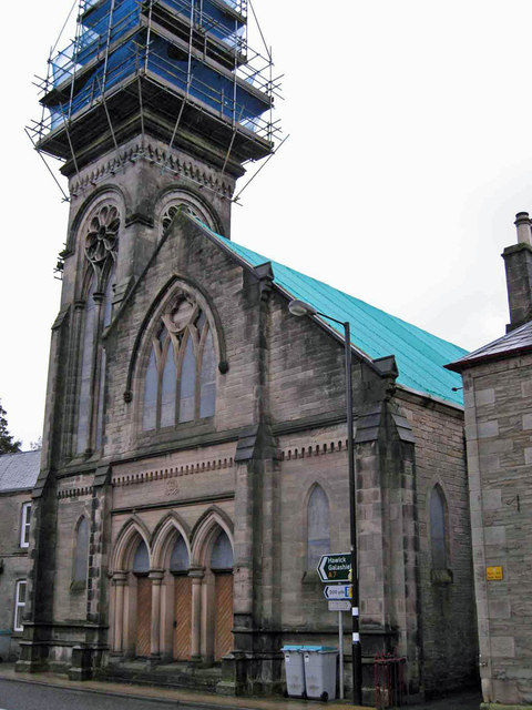 Erskine Church, Langholm