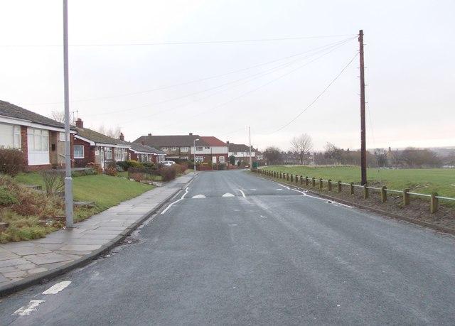 Shuttleworth Lane - viewed from Sunningdale
