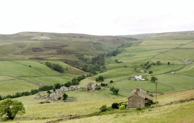 View South Southwest from Booze,  Nth. Yorkshire