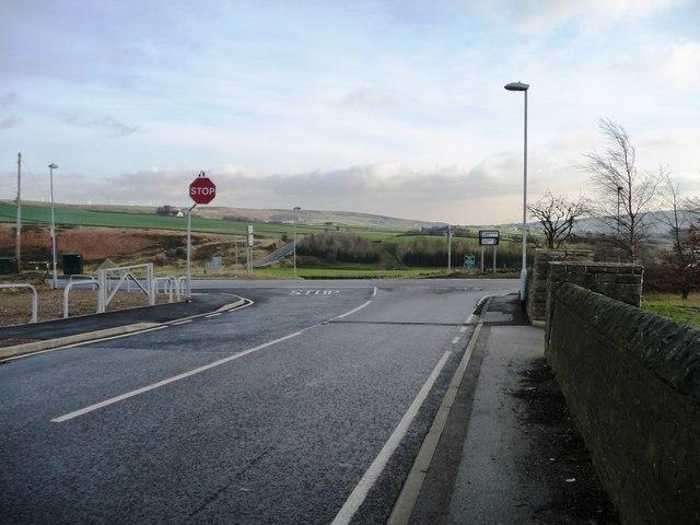 A616 crossroads