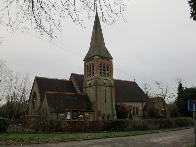 Christ Church, South Nutfield, Surrey