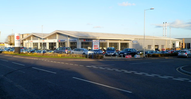 Islington Car Dealership, Trowbridge