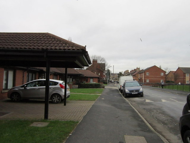 Park Road towards Pearson's Park