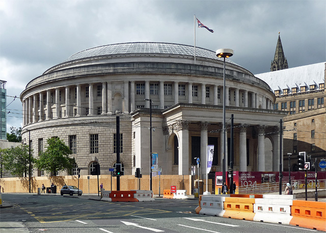 Central Library, St Peter's Square, Manchester