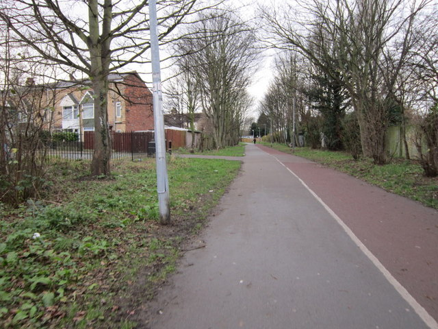 The former Withernsea train line