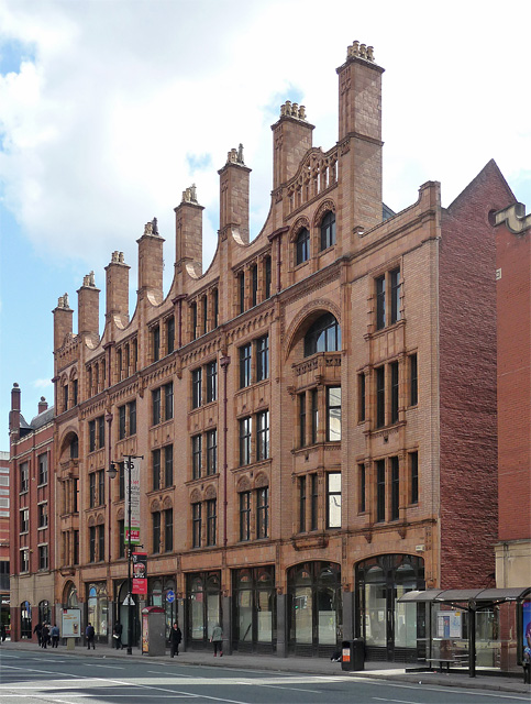 Princes Buildings, Oxford Street, Manchester