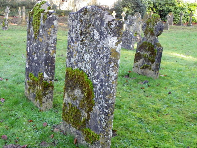Gravestones, St George's Churchyard