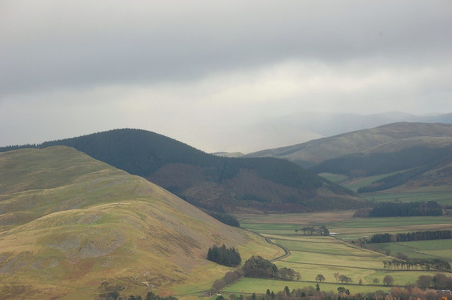 Cademuir from Whitelaw Hill