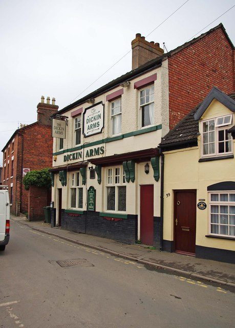 The Dickin Arms (1), 37 Noble Street, Wem