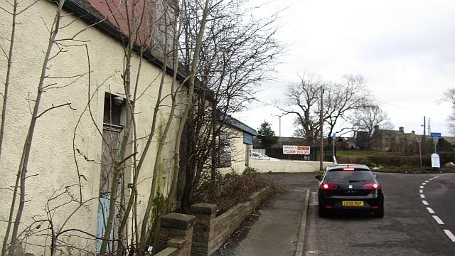 Junction on Millerhill Road