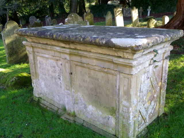 Chest tomb, St George's Churchyard