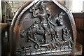 TF0638 : Oak Pew End, SS Peter & Paul church, Osbournby by J.Hannan-Briggs