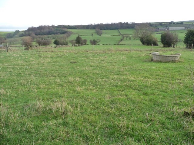 Grazing land east of White Ley Bank