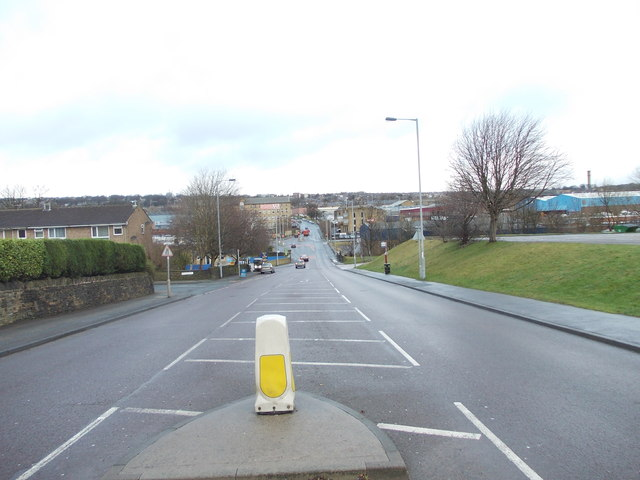Cemetery Road - viewed from Bradbeck Road