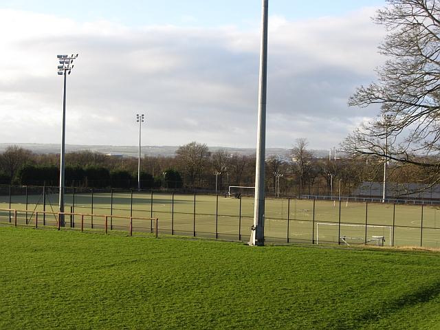 All weather pitches, Dalziel Park