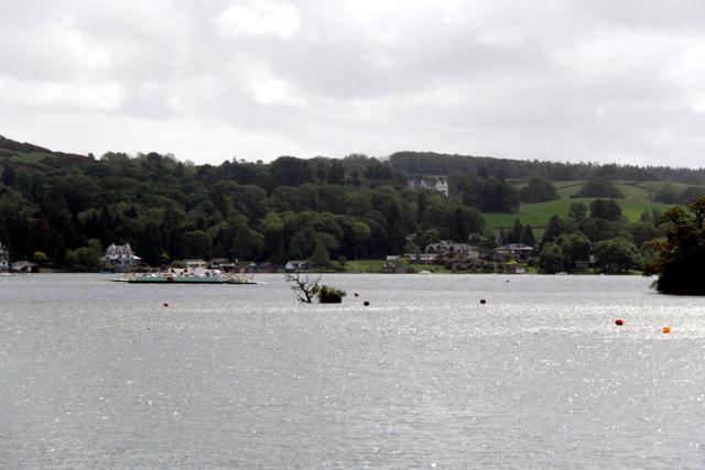 Chain Ferry, Windermere, Cumbria