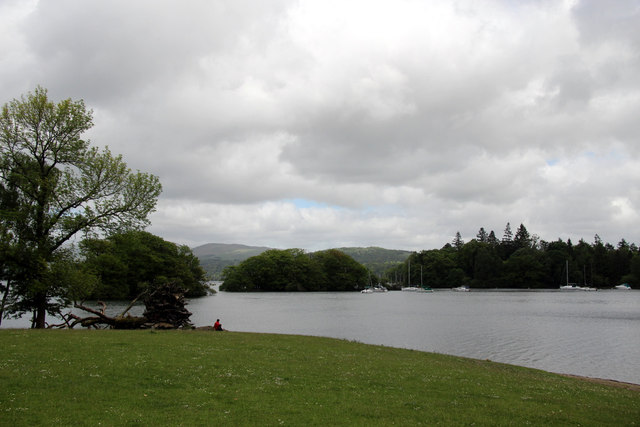 Winderemere with Belle Isle, Cumbria