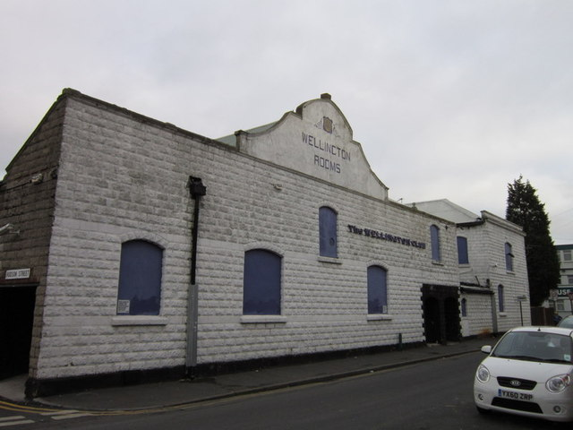 Wellington Rooms on Wellington Street