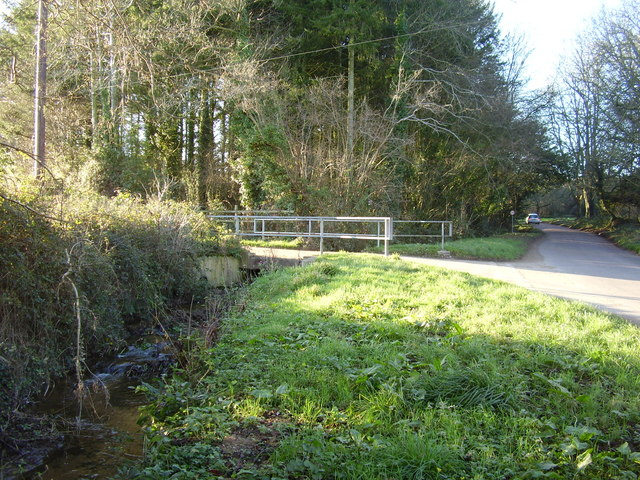 Road junction at Yettington