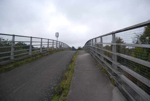 Footbridge over the A331