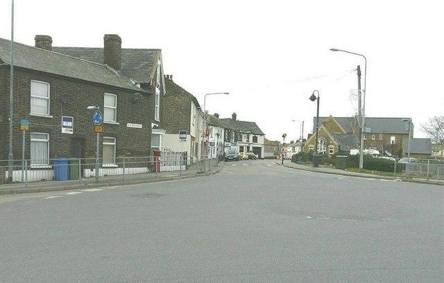 Railway Terrace, Queenborough