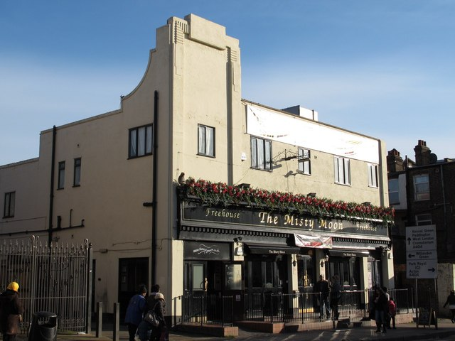 The Misty Moon, Manor Park Road (A404), NW10