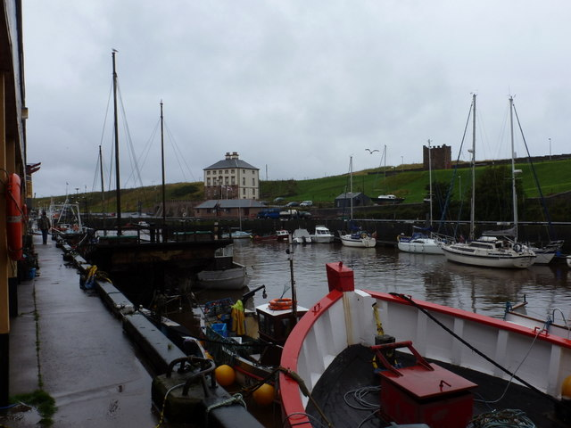 Eyemouth: the quayside