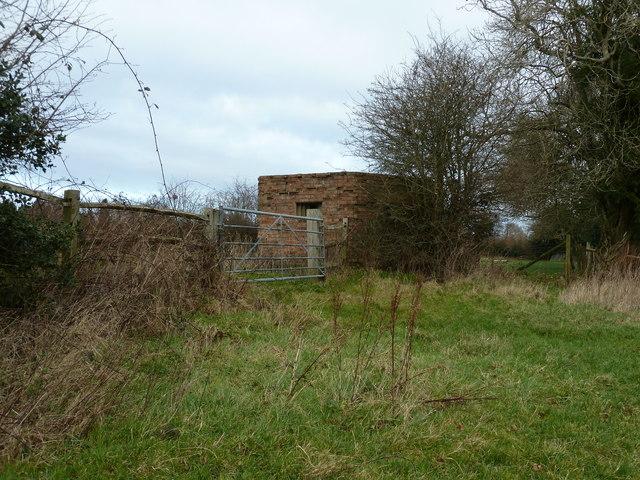 Pillbox at Newnham Park Farm