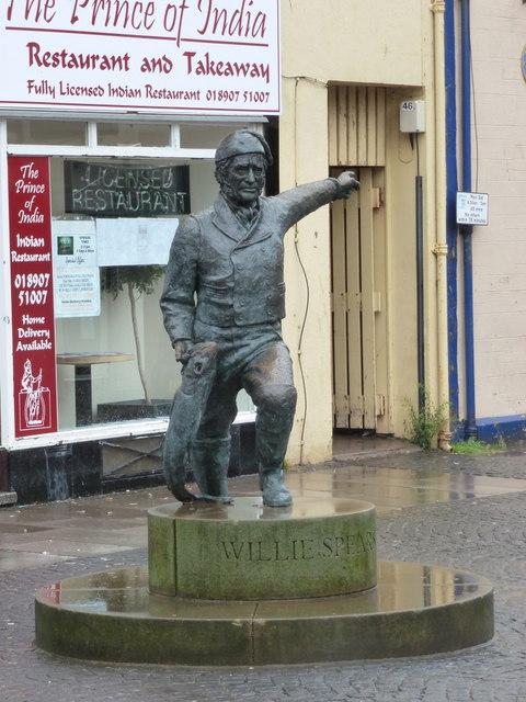 Eyemouth: Willie Spears memorial
