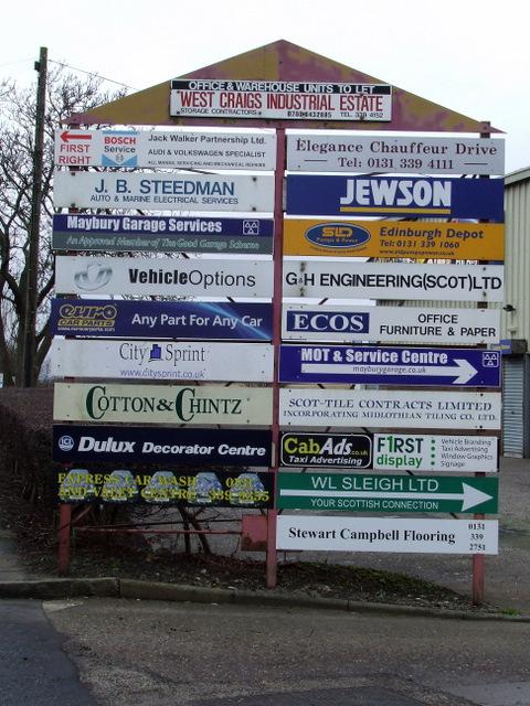 West Craigs Industrial Estate