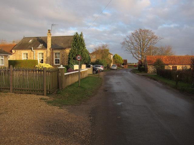 Station Road, West Dereham