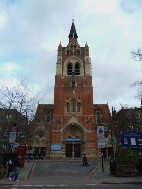 Union Chapel, Compton Terrace N1